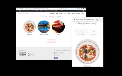 Gretl am See Website – Responsive Webdesign